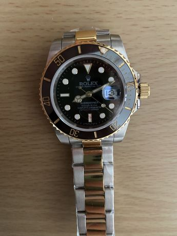 Rolex Submariner Automatico Gold Black