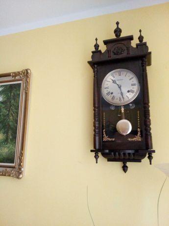 zegar antyk drewniany
