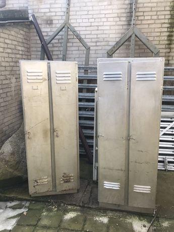 Szafki pracownicze szafy metalowe LOFT
