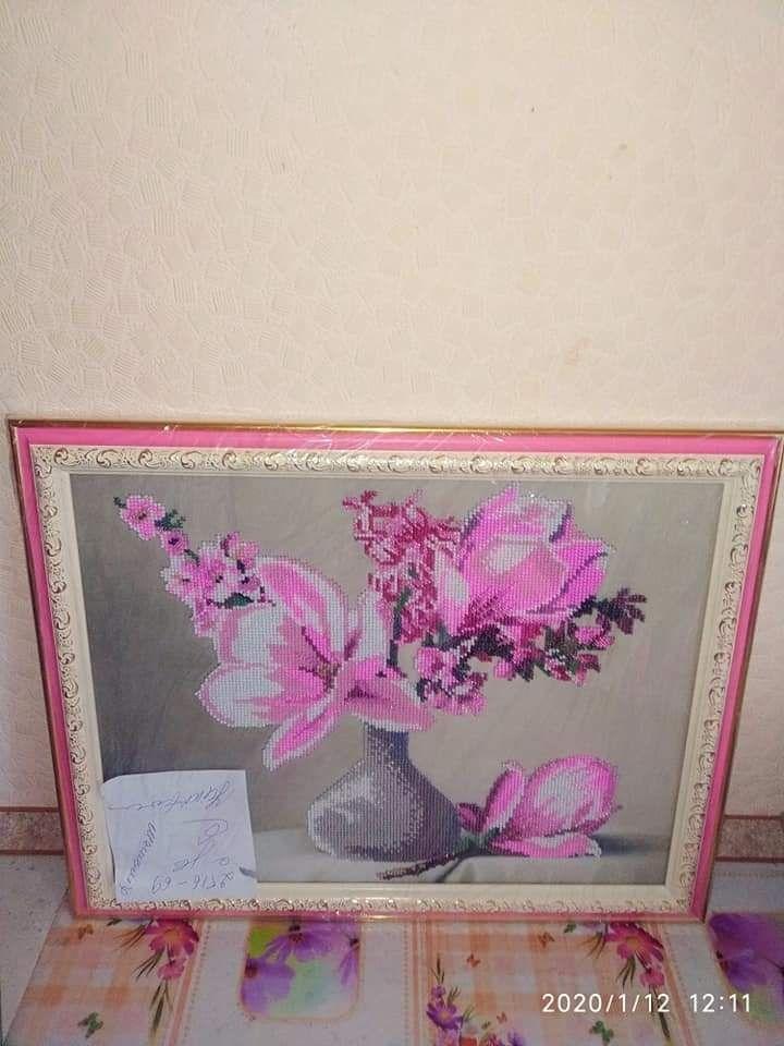 Продаю вышитые чешским бисером картины ручной работы