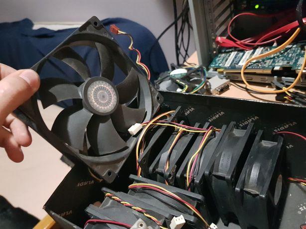 корпусные вентиляторы 80,90,120