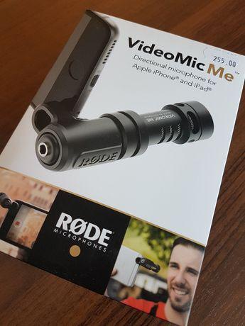 Mikrofon Rode VideoMic Me do smartfona