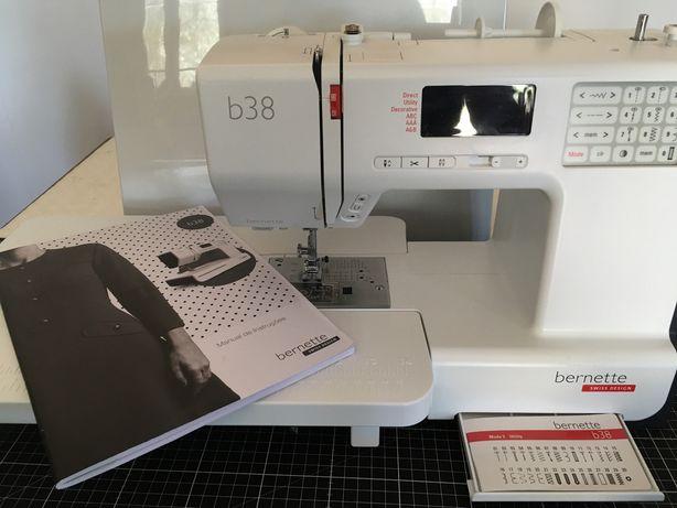 Maquina de costura bernette b38 com garantia