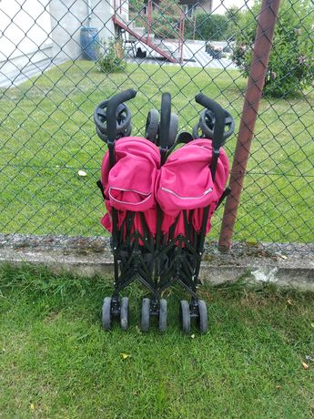 Wózek składany bliźniaczy Iglesina Twin Swift