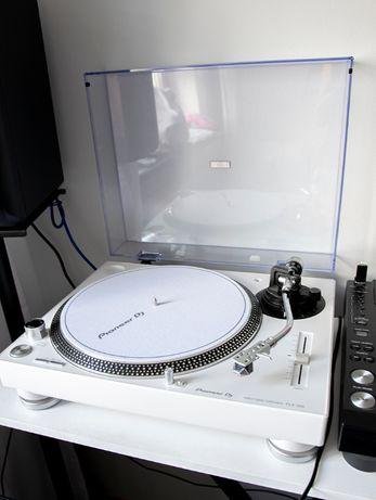 Gramofon Pioneer PLX-500 Biały Wkładka MM Goldring E1 RED Doinwestowny