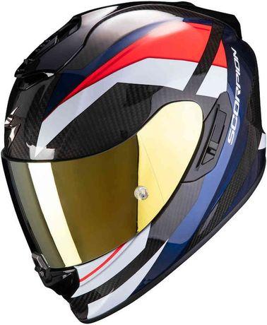 Nowy kask motocyklowy Scorpion EXO-1400 Carbon Air r. XS 53-54cm motor