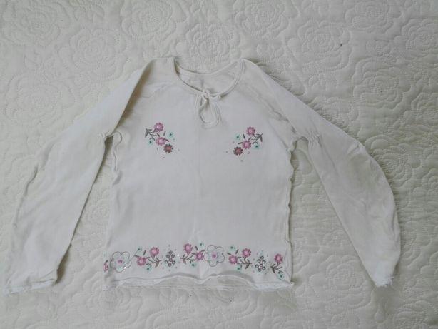 Bluzeczka dziewczęca ,bawełniana rozmiar 122