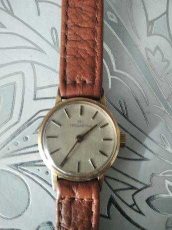 Zegarek złoty HELVETIA  DAMSKI