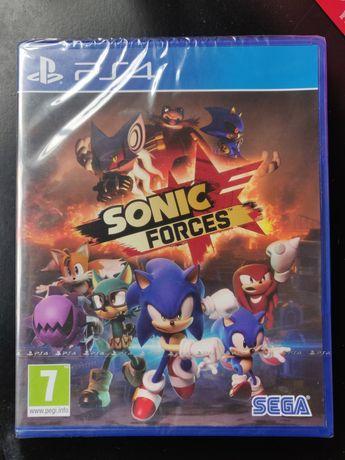 Jogo PS4 Sonic Forces novo