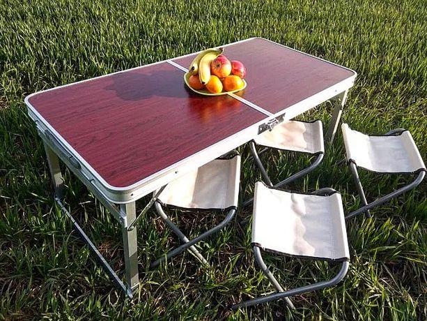Стол чемодан для пикника 120*60cm