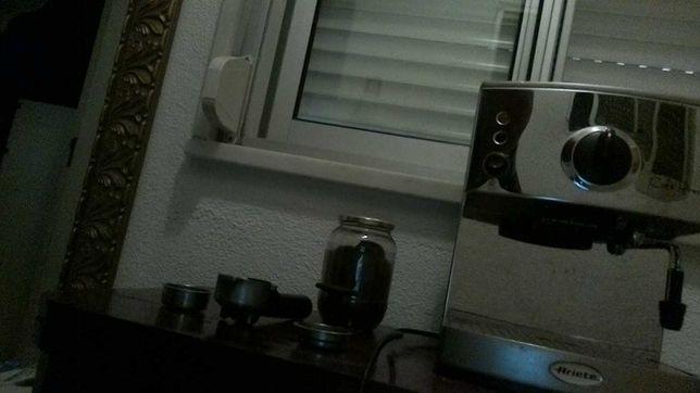 Maquina de café com manípulo