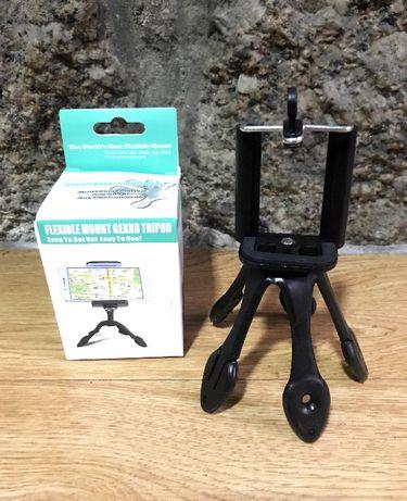 Mini tripé flexível universal para smartphones/câmara/Go Pro/etc.