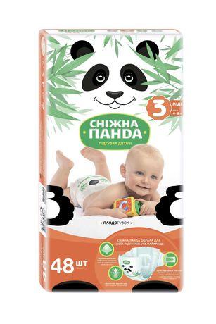 АКЦИЯ! Подгузники детские памперси дитячі підгузки №3 (4-9 кг) 48 шт