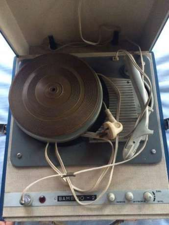 stary gramofon