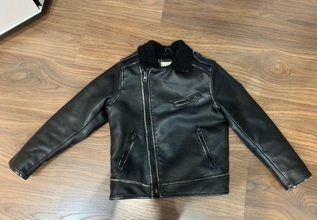 Кожанная курточка на мальчика фирмы Зара