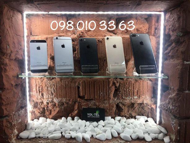 Айфон Apple iPhone 5SE 6 6S 7 8 Plus Space Gray Black Silver Rose Gold