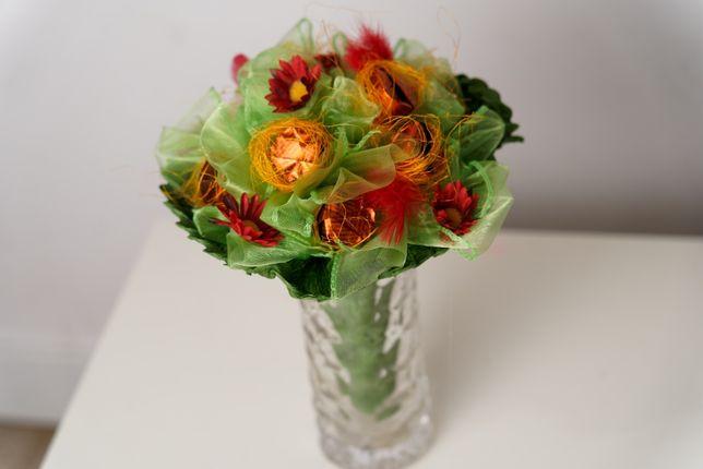Słodki bukiet Dzień Babci Walentynki Dzień Kobiet Urodziny Imieniny