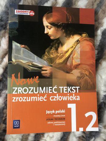 Zrozumieć tekst zrozumieć człowieka 1.2 podręcznik do języka polskiego