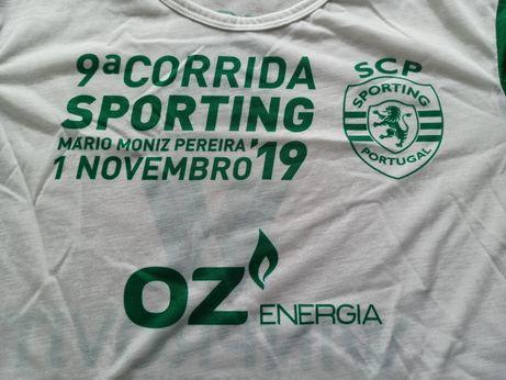 T-shirt corrida sporting 2019 - nova