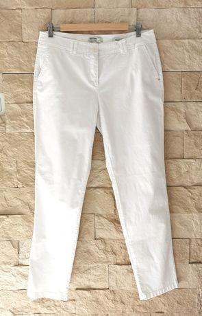 Gerry Weber r. 42 białe damskie spodnie chinos