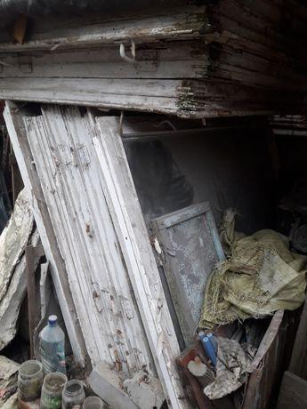 Стекло, старые окна