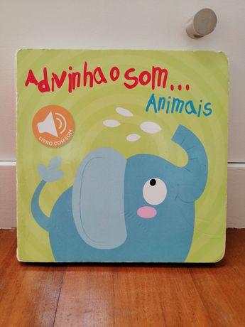 Livro sons animais