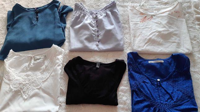 Blusas / camisola  senhora como novas M