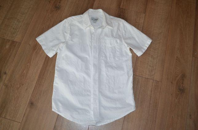 Рубашка белая корот.рукав Children's Place США на 9-10лет сост.новой