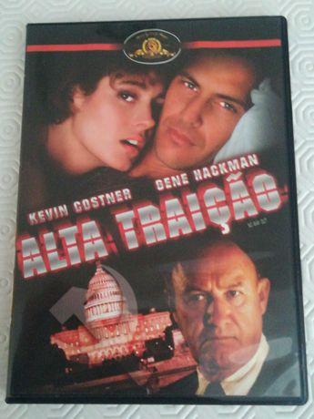 Dvd Alta Traição com Kevin Costner e Gene Hackman