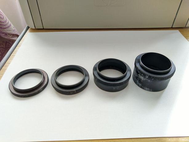 Кільця / кольца для фотоапарата Зеніт - безкоштовна доставка