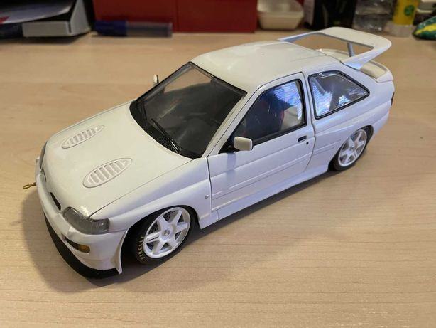 Ford Escort RS Cosworth - Car Test Rally - UT Models / Minichamps 1/18