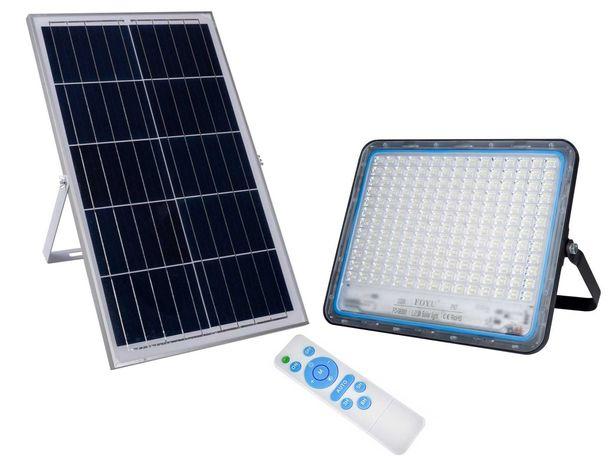 Уличный LED прожектор FOYU 300 Вт на солнечной батарее