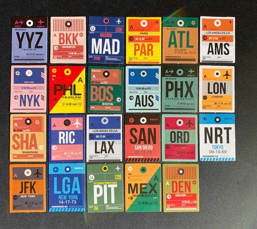 Travel Stickers Pack (23 autocolantes)