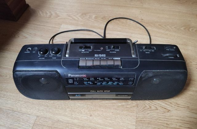 Kaseciak radio magnetofon PANASONIC sprawny !