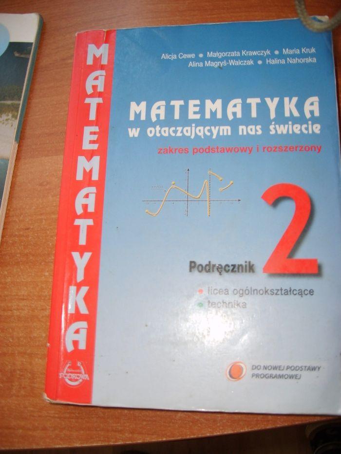 Matematyka w otaczającym nas świecie 2.podręcznik Nowy Sącz - image 1