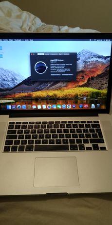 MacBook Pro Retina 15 polegadas core i7 8Gb ram 256GB SSD