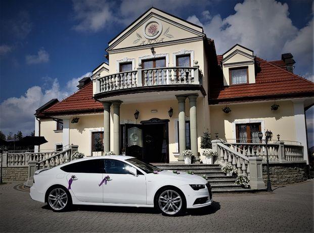 Audi A7 2018 i A7 2017 Samochody do Ślubu Rybnik Żory Gliwice Śląsk