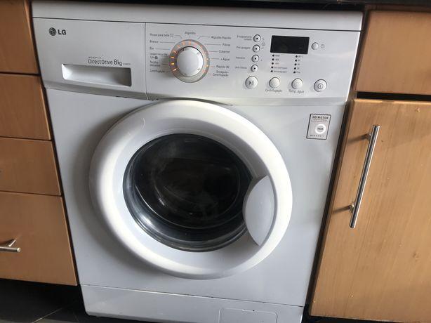 Maquina lavar roupa LG 8 Kilos