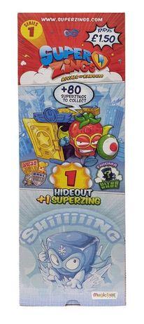 box 24 sztuk saszetek figurek i kryjówek super zings superzings ser 1