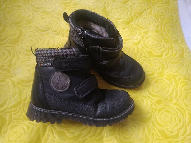 Зимові черевики на хлопчика рр 30