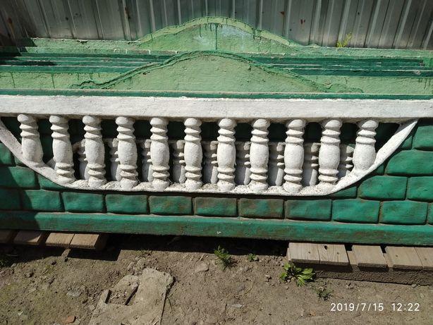 бетонный забор винницкая обл