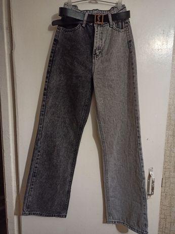 Продам турецкие джинсы колорблок