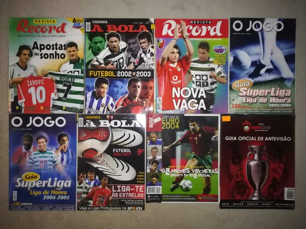 Guias Oficiais Futebol Liga Portuguesa e Euro