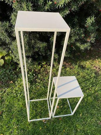 Stojak weselny/stojak na kwiaty/piedestał 100 cm