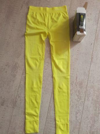 SPOKEY spodnie THERMO damskie BIWINTER żółty S/M