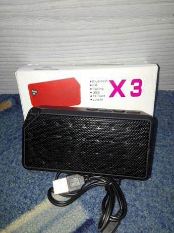 Głośnik bluetooth bezprzewodowy FM SD MP3 USB - Nowy