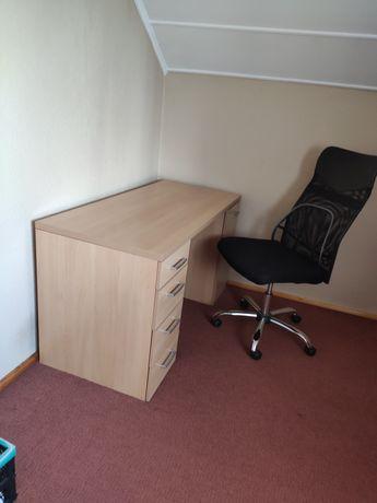 Sprzedam biurko z krzesłem