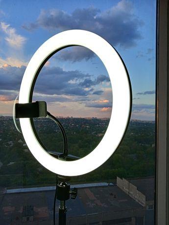 Кольцевой свет лампа - 25% набор блогера + большой штатив + Подарок!
