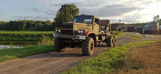 KRAZ 255B Hakowiec Unikat 6x6