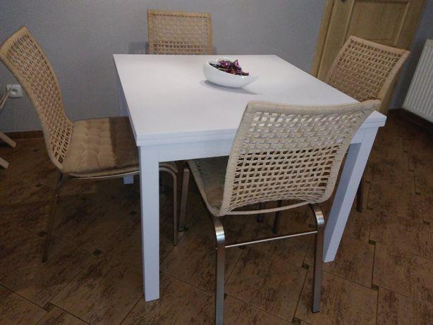 Krzesła do kuchni, jadalni, sznurkowe. 4szt.